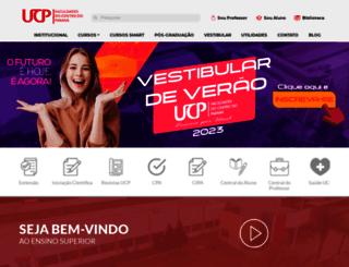 ucpparana.edu.br screenshot