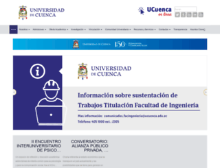 ucuenca.edu.ec screenshot