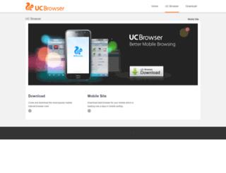 ucwebrowser.com screenshot