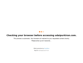 udaipurkiran.com screenshot