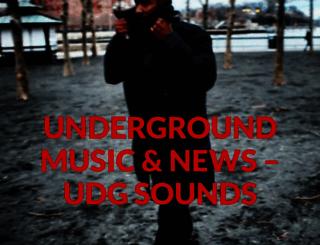 udgsounds.com screenshot