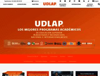 udlap.mx screenshot