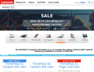 uenovo.com screenshot