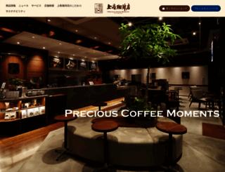 ueshima-coffee-ten.jp screenshot