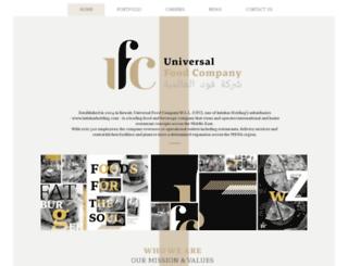 ufc.com.kw screenshot
