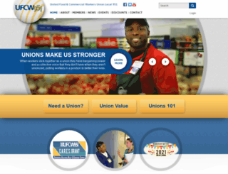 ufcw951.com screenshot