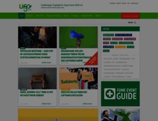 ufo-online.aero screenshot
