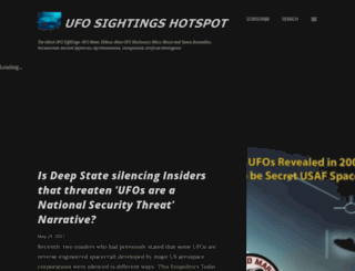 ufosightingshotspot.blogspot.ro screenshot