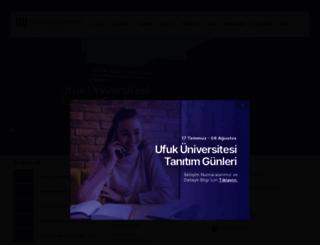 ufuk.edu.tr screenshot
