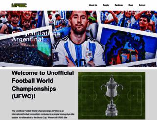 ufwc.co.uk screenshot