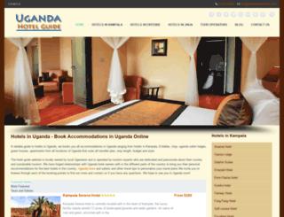ugandahotelguide.com screenshot