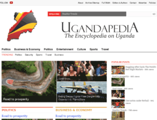 ugandapedia.com screenshot