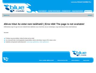ugyintezes.bluemobile.hu screenshot