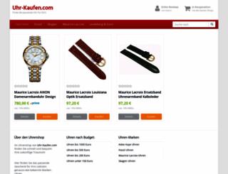 uhr-kaufen.com screenshot