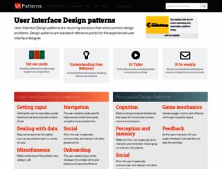ui-patterns.com screenshot