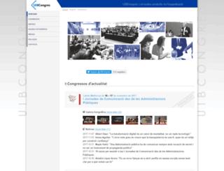 uibcongres.org screenshot