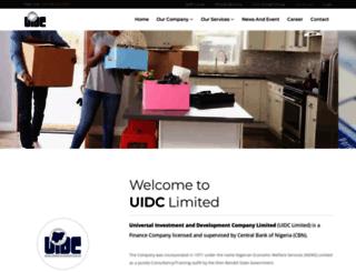 uidc.com.ng screenshot