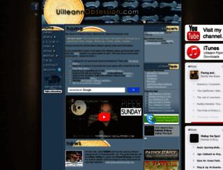 uilleannobsession.com screenshot