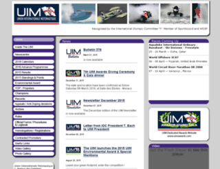 uimpowerboating.com screenshot