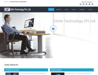 uinfotechnology.com screenshot
