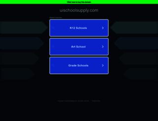 uischoolsupply.com screenshot