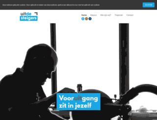uitdesteigers.nl screenshot