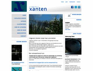 uitgeverijxanten.nl screenshot