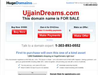 ujjaindreams.com screenshot