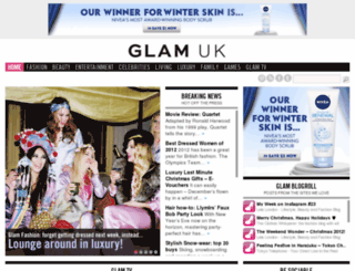 uk-beauty.glam.com screenshot