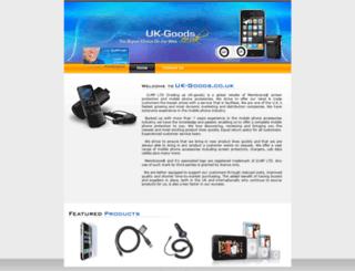 uk-goods.com screenshot