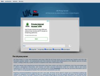 uk-proxy.co.uk screenshot