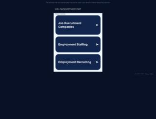 uk-recruitment.net screenshot