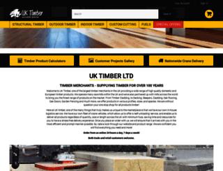 uk-timber.co.uk screenshot