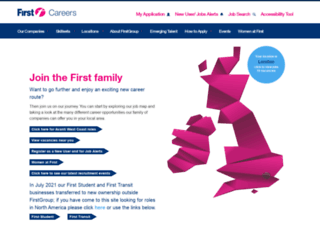 uk.firstgroupcareers.com screenshot