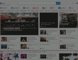uk.msn.com screenshot