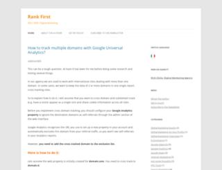 uk.rankfirst.info screenshot