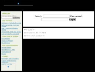uk2-vn.mixstream.net screenshot