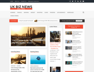 ukbiznews.com screenshot