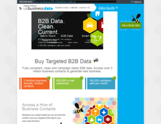 ukbusinessdata.co.uk screenshot