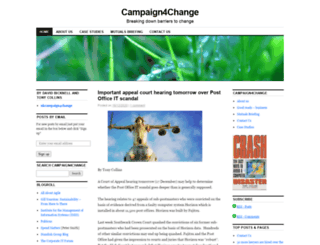 ukcampaign4change.com screenshot