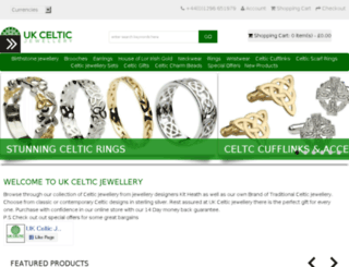 ukcelticjewellery.co.uk screenshot