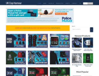 ukcophumour.co.uk screenshot