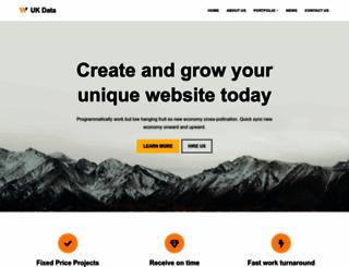 ukdata.com screenshot