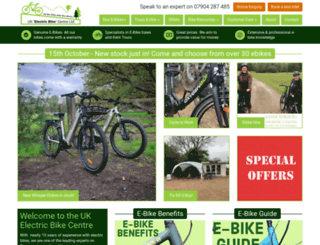 ukelectricbike.co.uk screenshot