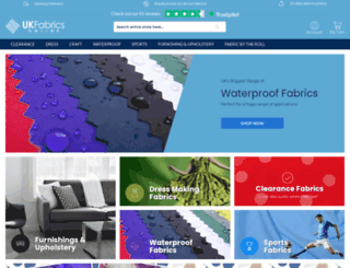 ukfabricsonline.com screenshot