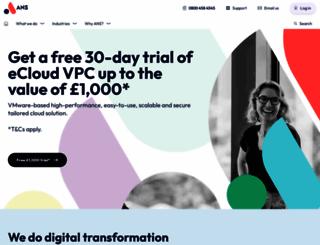 ukfast.net screenshot