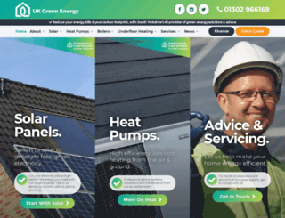 ukgreenenergy.co.uk screenshot
