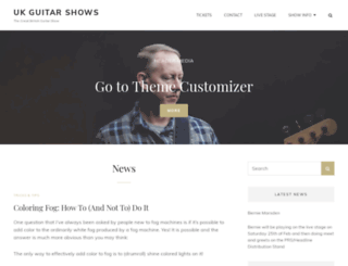 ukguitarshows.co.uk screenshot