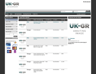 ukgunroom.com screenshot