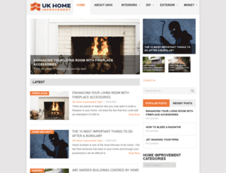 ukhomeimprovement.co.uk screenshot
